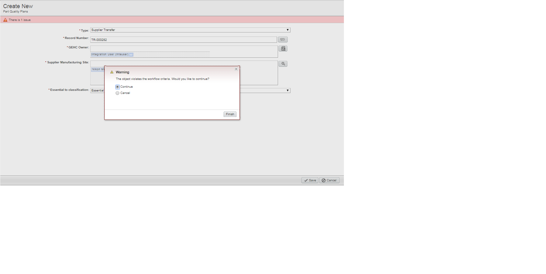 RE: Enabling Cover Page attribute , gives Error 15.